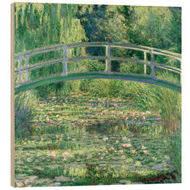 Madera  White Waterlilies - Claude Monet