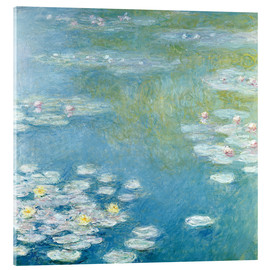 Cuadro de metacrilato  Nympheas at Giverny - Claude Monet