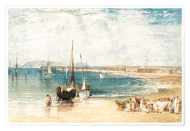 Póster  Weymouth - Joseph Mallord William Turner