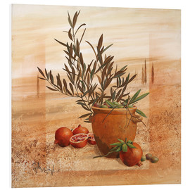 Forex  Pomegranate and olive harvest - Franz Heigl