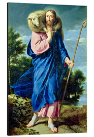 Cuadro de aluminio  The Good Shepherd - Philippe de Champaigne