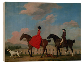 Madera  John and Sophia Musters riding at Colwick Hall - George Stubbs