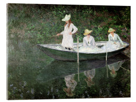 Cuadro de metacrilato  The Boat at Giverny - Claude Monet