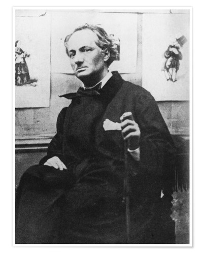 Póster Charles Baudelaire