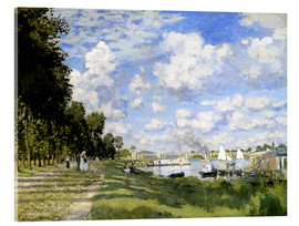 Metacrilato  The Marina at Argenteuil - Claude Monet