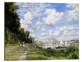 Aluminio-Dibond  The Marina at Argenteuil - Claude Monet