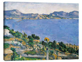 Lienzo  El Estaque - Paul Cézanne