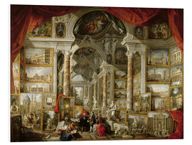 Forex  Gallery with Views of Modern Rome - Giovanni Paolo Pannini
