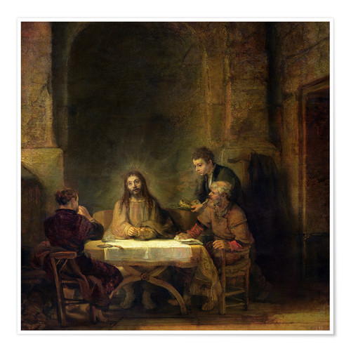 Póster The Supper at Emmaus
