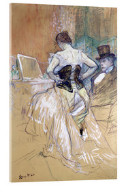Cuadro de metacrilato  Woman at her Toilet - Henri de Toulouse-Lautrec