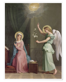 Póster  The Annunciation - Auguste Pichon