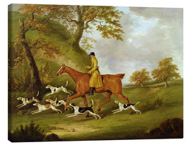 Lienzo  Huntsman and Hounds - John Nott Sartorius