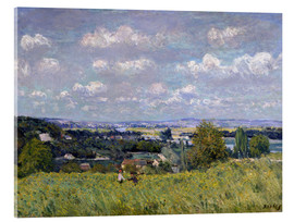 Cuadro de metacrilato  The Valley of the Seine at Saint-Cloud - Alfred Sisley
