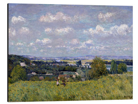 Aluminio-Dibond  The Valley of the Seine at Saint-Cloud - Alfred Sisley