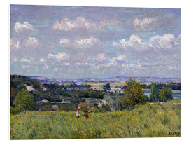 Cuadro de PVC  The Valley of the Seine at Saint-Cloud - Alfred Sisley