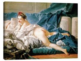 Lienzo  The Odalisque - François Boucher
