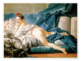 Póster The Odalisque