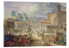 Metacrilato  A Scene in Ancient Rome - Joseph Michael Gandy