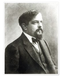 Póster Claude Debussy