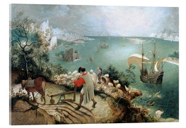 Metacrilato  Landscape with the Fall of Icarus - Pieter Brueghel d.Ä.