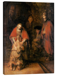 Lienzo  Return of the Prodigal Son - Rembrandt van Rijn