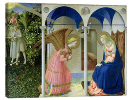 Lienzo  The Annunciation - Fra Angelico