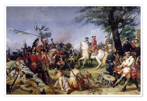 Póster The Battle of Fontenoy