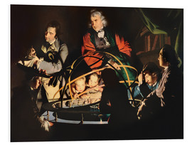 Cuadro de PVC  The Orrery - Joseph Wright of Derby