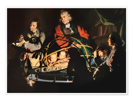 Póster  The Orrery - Joseph Wright of Derby