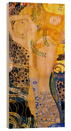 Madera  Water Serpents I - Gustav Klimt