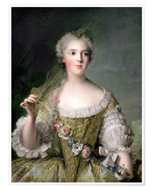 Póster  Sophie from France - Jean-Marc Nattier