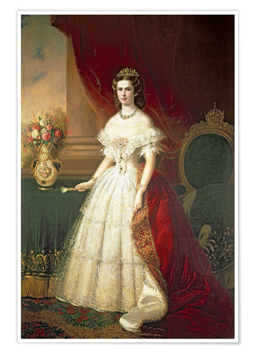 Póster Empress Elizabeth of Bavaria