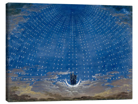 Lienzo  The Palace of the Queen of the Night - Karl Friedrich Schinkel