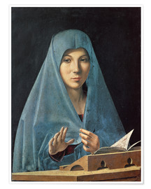 Antonello da Messina - The Annunciation