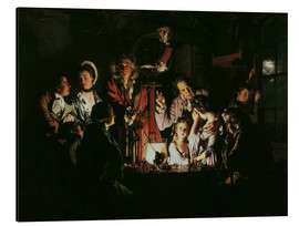 Cuadro de aluminio  An Experiment on a Bird in the Air Pump - Joseph Wright of Derby