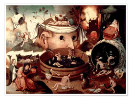 Póster  Tondal's Vision - Hieronymus Bosch