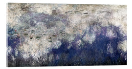 Cuadro de metacrilato  Waterlilies panel B - Claude Monet