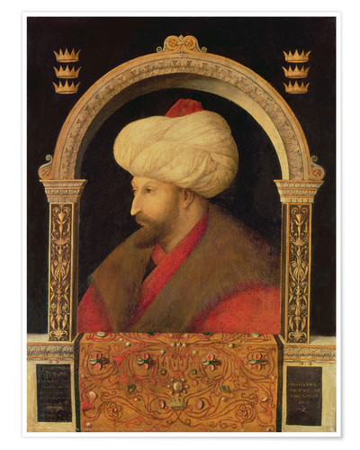 Póster The Sultan Mehmet II