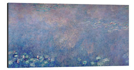 Cuadro de aluminio  Waterlilies: Two Weeping Willows (detail) - Claude Monet