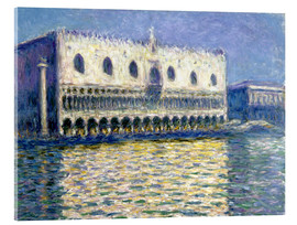 Cuadro de metacrilato  The Ducal Palace - Claude Monet