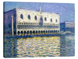Lienzo  The Ducal Palace - Claude Monet