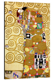 Aluminio-Dibond  The Tree of Life (Fulfilment) - Gustav Klimt