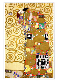 Póster  The Tree of Life (Fulfilment) - Gustav Klimt