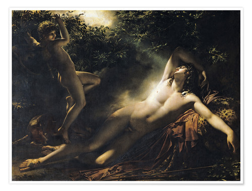 Póster The Sleep of Endymion