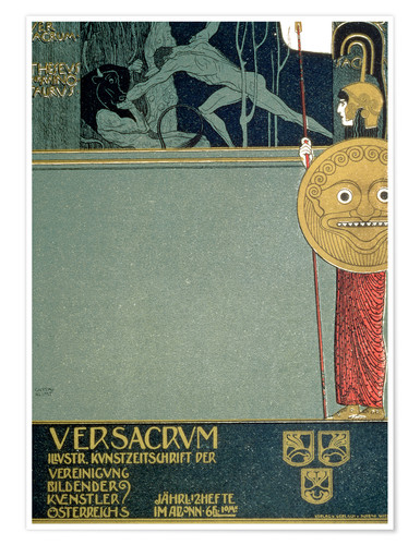 Póster Cover of Ver Sacrum