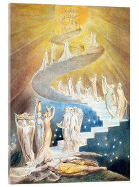 Cuadro de metacrilato  La escalera de Jacob - William Blake