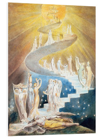 Cuadro de PVC  La escalera de Jacob - William Blake