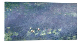 Cuadro de metacrilato  Waterlilies: Morning - Claude Monet