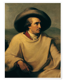 Póster Goethe in the Campagna (detail)