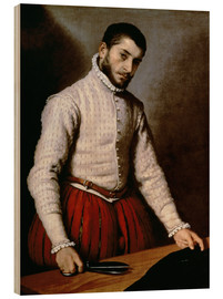 Cuadro de madera  The Tailor - Giovanni Battista Moroni